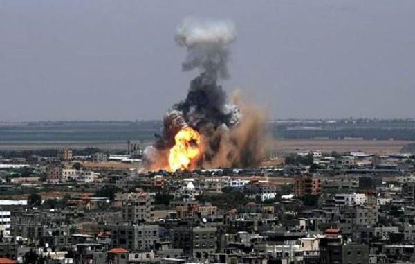 Dos menores palestinos muertos y diez personas más heridas en bombardeos israelíes sobre Gaza