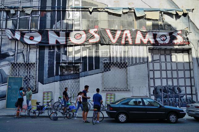 Cuatro centros sociales madrileños bajo amenaza de desalojo