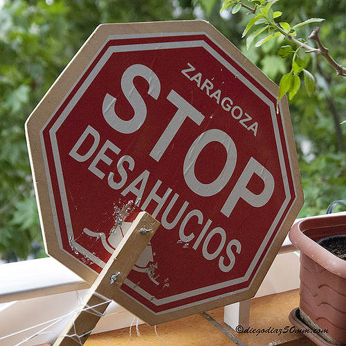 Stop Desahucios Zaragoza anuncia la suspensión del desahucio de Julio y su familia