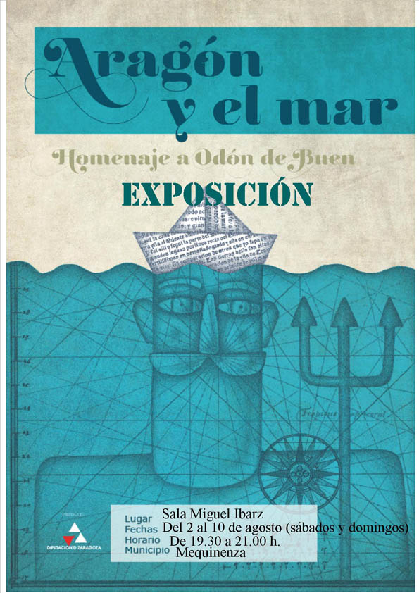La exposición 'Aragón y el mar' abre el programa expositivo de agosto de la Sala Goya de Mequinensa