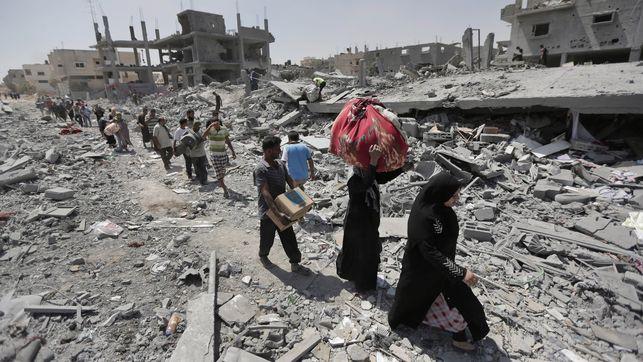 Israel anuncia el fin de la operación en Gaza sin negociar con Hamás y dejando casi 1.700 palestinos muertos