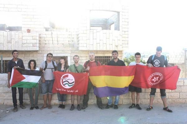 """Aragoneses en Palestina: """"prácticamente toda familia tiene un miembro preso o muerto"""""""