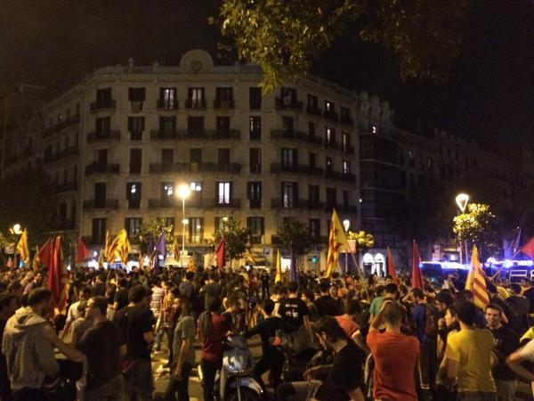 El Constitucional español suspende la consulta de Catalunya