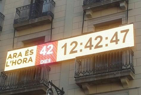 El Pueblo catalán convocado a votar el 9 de noviembre