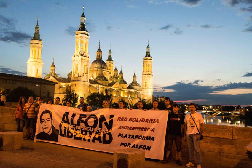 'Alfon' condenado a 4 años de cárcel por los hechos del 14N