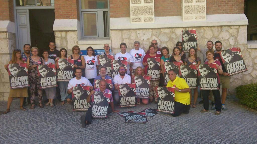 Zaragoza se concentrará para pedir la libertad de Alfon