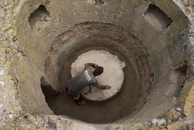 Voluntarios internacionales en los trabajos arqueológicos sobre la Guerra Civil en Belchite