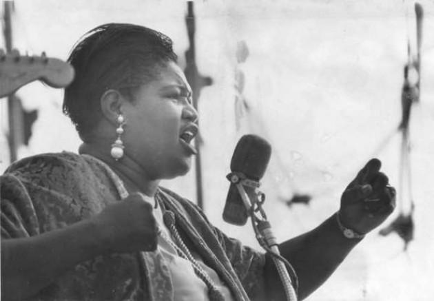 Big Mama Thornton, su voz un campo de batalla