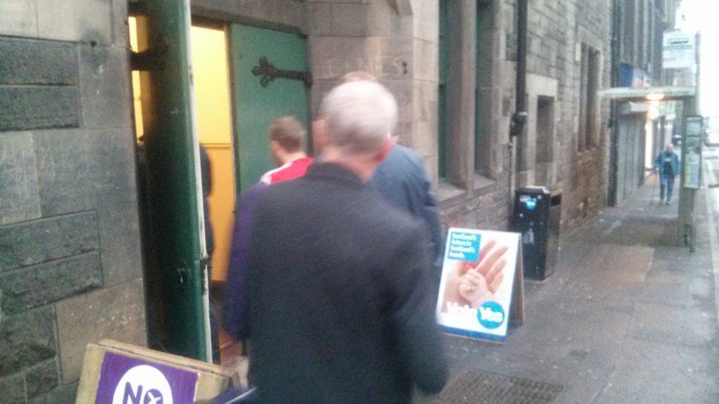 Asinas han ubierto los colechios (Escocia decide)
