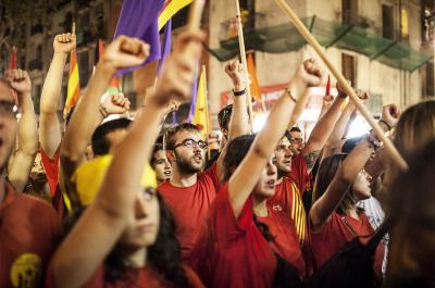 "L'esquerra independentista fa una crida a ""desobeir pel referèndum"""