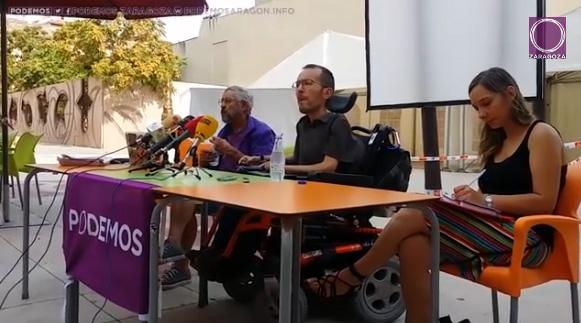 Echenique propone siete portavoces en Podemos con mandatos de dos años