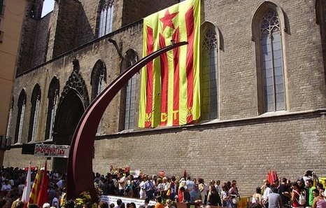 El independentismo catalán se cita en Fossar de les Moreres