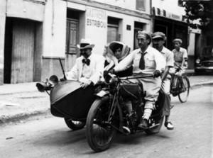 'Sabiñánigo y sus gentes'. Foto del blog del Museo de Serrablo.
