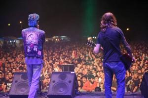 Manolo y su banda en el pasado Aupa Lumbreiras.