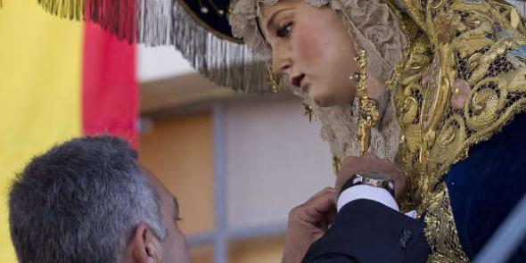 Presentan un recurso extraordinario contra la concesión de la medalla al mérito policial a la Virgen del Amor