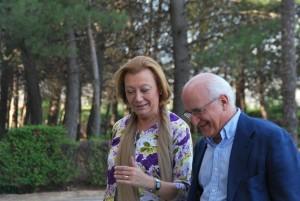 Luisa Fernanda Rudi y Javier Zarzalejos.