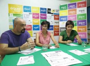 Silvia Mellado, Laura Vizán e Iñigo