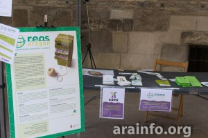 Foto: Pablo Ibañez (AraInfo) (Stand de REAS en la Feria del Mercado Social 2014)
