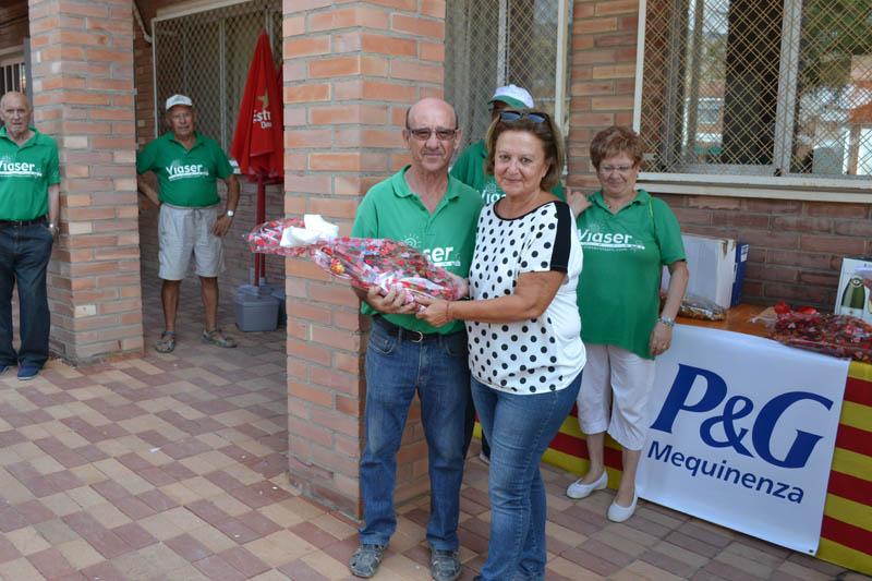 El mequinenzano Blas Fernández y el equipo de Almacelles ganan el XIX Encuentro de Birlas de Mequinensa
