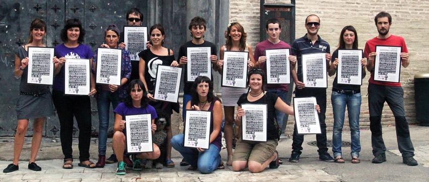 """La campaña """"Por unas Fiestas del Pilar libres de agresiones sexistas"""" a debate hoy en el Pleno municipal"""