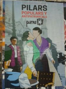 El cartel de la campaña de Purna.