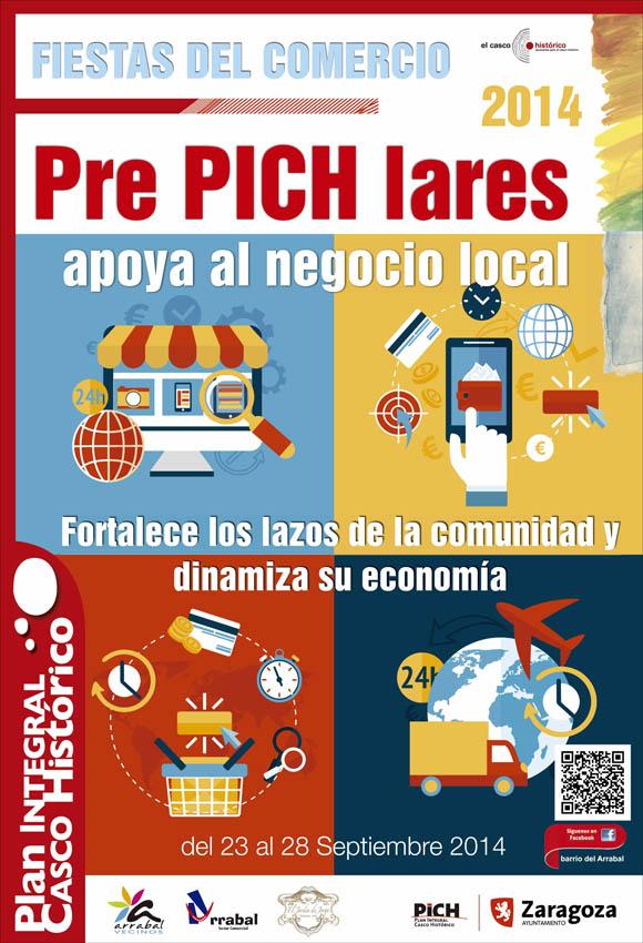 El Arrabal apoya a sus comerciantes con las Fiestas del Comercio 'Pre-Pichlares'