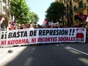 Hoy, a las 20.00 horas, han convocado una concentración en Zaragoza, en Delegación de Gobierno.