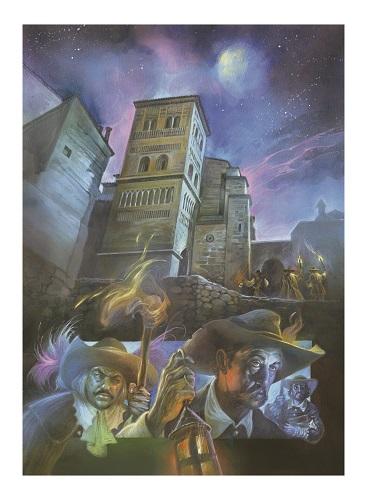 Un comic sobre a leyenda d'os Amants de Teruel