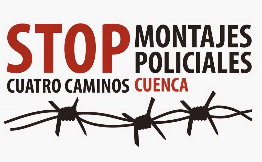 """Inician campaña de apoyo a dos personas de Cuenca que serán juzgadas por """"resistencia y agresión a la autoridad"""""""