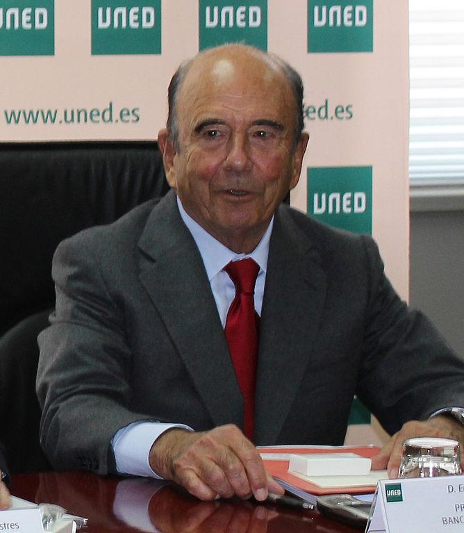 Muere Emilio Botín, presidente del Banco Santander