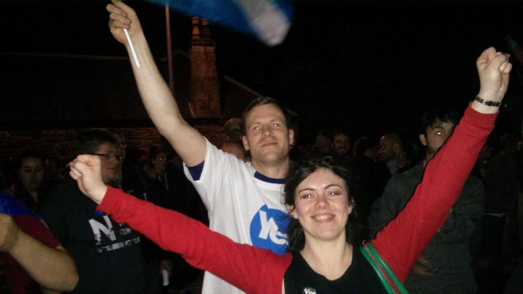 Escocia espera los resultados de un día histórico
