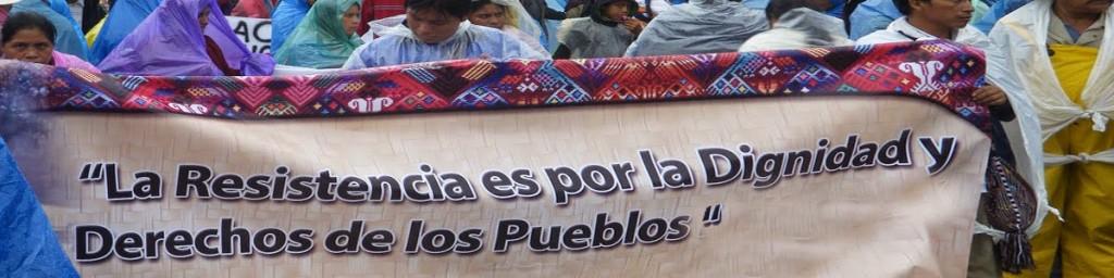 Firmas en solidaridad con Guatemala