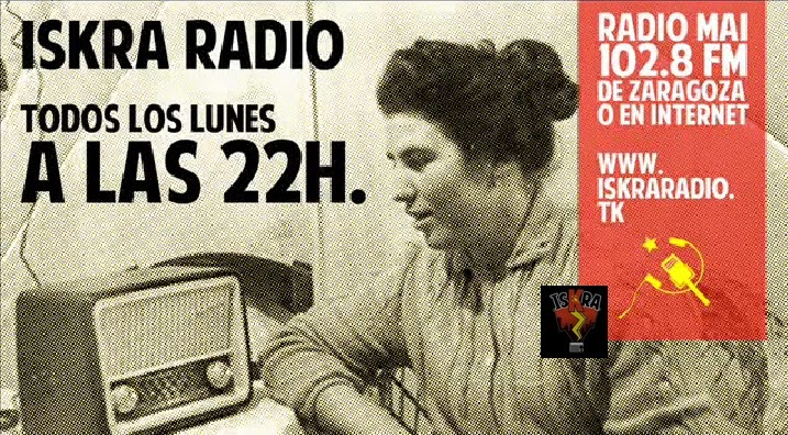 El Ayuntamiento de Zaragoza prohíbe un acto de Iskra Radio en el CSC Luis Buñuel