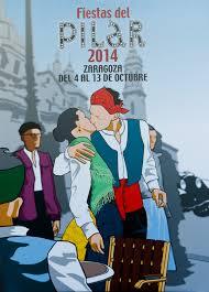 Purna presenta un cartel alternativo frente «al besico heteropatriarcal» de las fiestas del Pilar