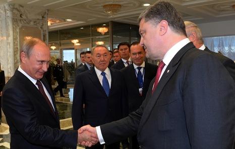 Kiev anuncia un alto el fuego en el este de Ucrania pero Moscú lo desmiente