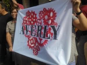 Imagen de la concentracón en defensa de Averly del pasado jueves. Foto: @RobertoGrac