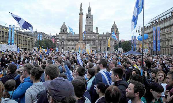 "Escocia vota ""No"" pero la sociedad se ha movido a la izquierda"