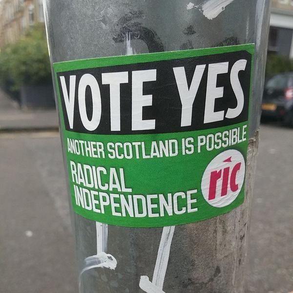 El 'Sí' a la independencia de Escocia supera al 'No' por primera vez en una encuesta