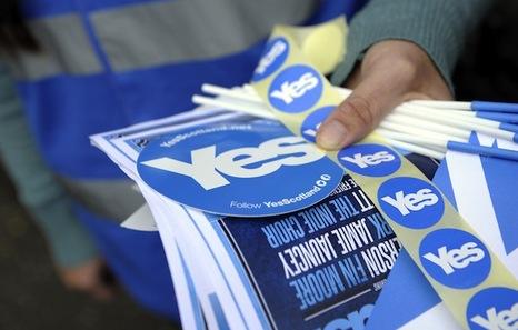 El plazo de registro para el referéndum de Escocia concluye este martes