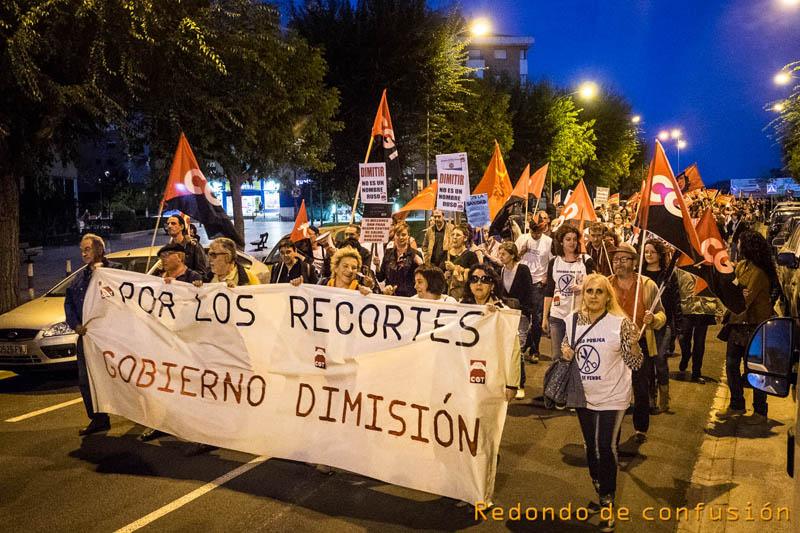 CGT anuncia movilizaciones en defensa de la Sanidad Pública aragonesa