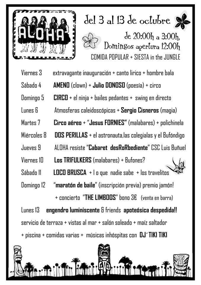 Aloha II en el CSC Luis Buñuel
