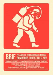 Solidaridad con las BRIF en el CSO Kike Mur