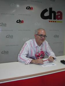 David Félez, en una imagen de archivo de CHA.