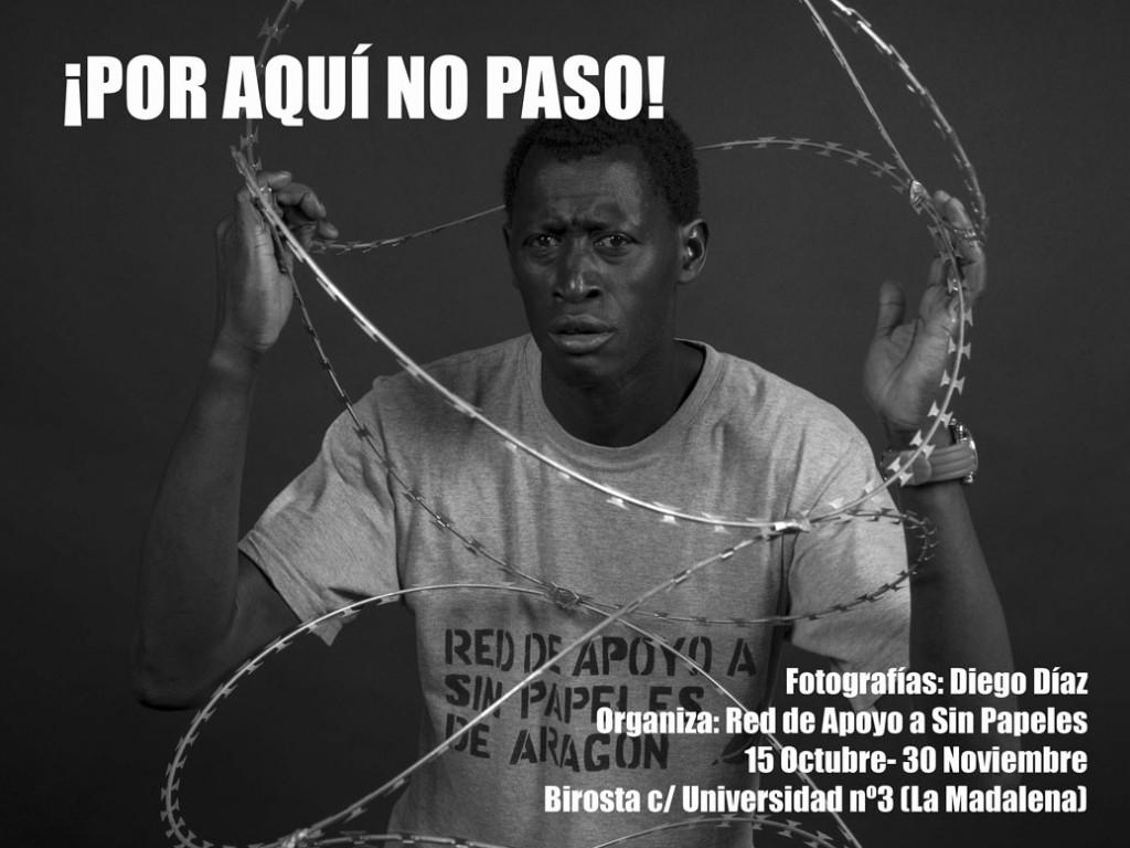 """""""¡Por aquí no paso!"""", la nueva exposición de Birosta realizada por el fotógrafo Diego Díaz"""