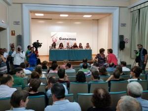 Imagen de la presentación de Ganemos Teruel.