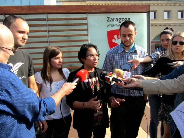 Ganemos Zaragoza presenta su Llamamiento para ganar Zaragoza