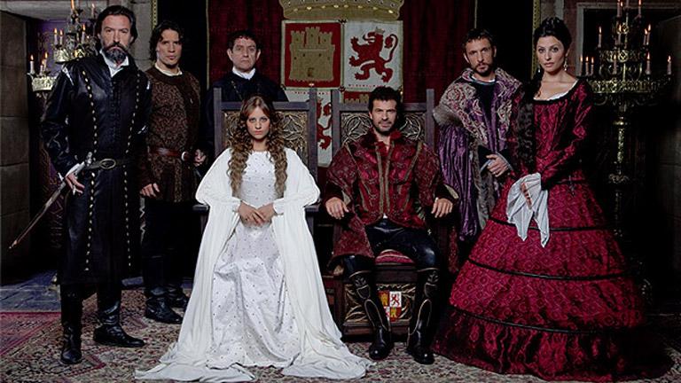 Manipulaciones de la historia de Aragón en la serie de TV Isabel