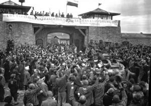 Liberación de Mauthausen. Foto: Donald R. Ornitz