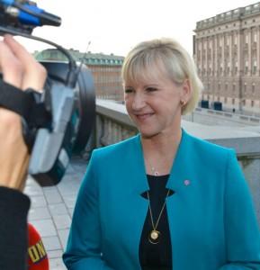 La ministra sueca, Margot Wallström. Foto: Frankie Fouganthin (CC-BY)