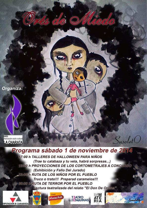 Jornada aterradora con el concurso de cortos «Orés De Miedo»